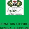 INEC's Information Kit for 2015 General Elections