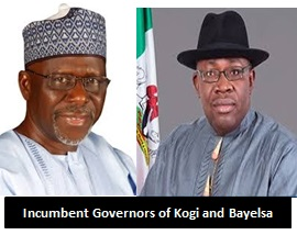 Timelines for Kogi and Bayelsa Governorship Elections